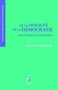 De la fragilité de la démocratie : lecture de Tocqueville