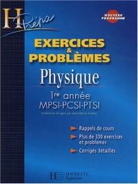 Chimie 1ère année MPSI-PTSI : Exercices & problèmes