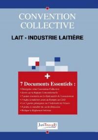 3124. Lait - industrie laitière Convention collective