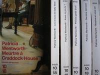 lot 6 livres patricia wentworth : meurtre en sous sol - derniere demeure - prends garde a toi - anna ou es tu ? - les ennuis de sally west - meurtre a craddock house