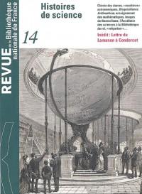 Revue de la BNF, numéro 14 : Histoires de science