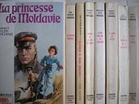lot 8 livres collection éditions mondiales : la princesse de moldavie - la maison deborah - l'orchidée noire de sumatra - images de la mer du nord - 70000 dollars en sourdine - le signe du bélier - la