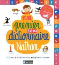 Mon premier dictionnaire Nathan et Mon cahier pour jouer avec les mots 3-4 ans : Pack en 2 volumes