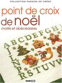 Point de croix de Noël : Motifs et abécédaires