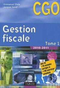 Gestion fiscale 2010-2011 - Tome 1 - Manuel - 10ème édition