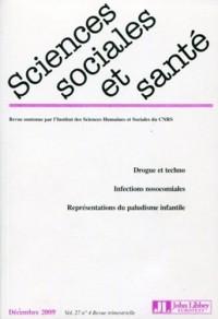 Sciences Sociales et Santé, vol 27 n4 déc2009 :