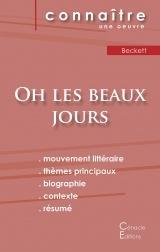 Fiche de lecture Oh les beaux jours de Samuel Beckett (Analyse littéraire de référence et résumé complet)