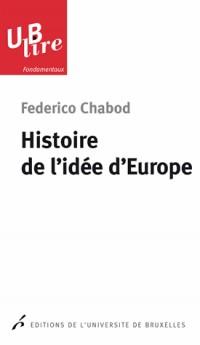 Histoire de l'Idée d'Europe