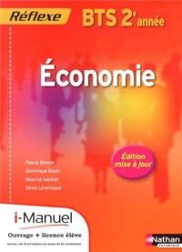 Economie Bts Deuxième Annee (Pochette Reflexe) Licencenumerique Eleve I-Manuel+Ouvrage Papier