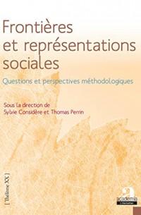 Frontières et représentations sociales.: Questions et perspectives méthodologiques