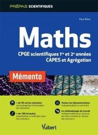 Mémento Maths - CPGE scientifiques et CAPES