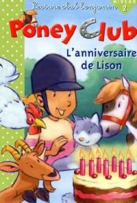 L'anniversaire de Lison - Poney Club