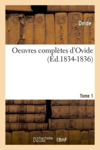 Oeuvres Completes  T 1  ed 1834 1836