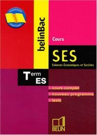 SES Cours Terminale ES