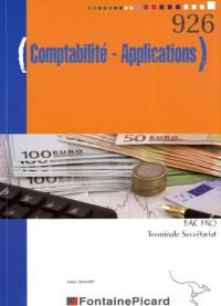 Comptabilité-Applications BAC PRO Tle Secrétariat