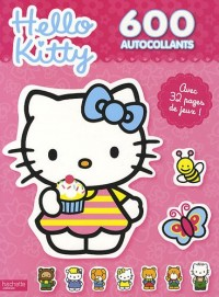 600 autocollants Hello Kitty