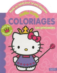 Coloriages pour ne pas dépasser - Les princesses