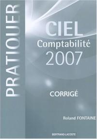 Pratiquer Ciel comptabilité 2007 : Corrigé