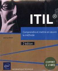 ITIL® - Coffret de 2 livres : Comprendre et mettre en oeuvre la méthode (2e édition)