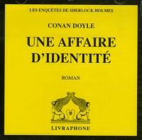 Une affaire d'identité (CD audio)