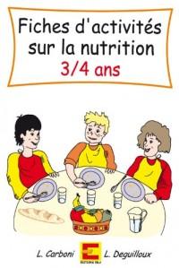 Fiches d'Activites Sur la Nutrition 3-4 Ans