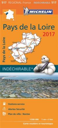 Carte Régionale 517 Pays de la Loire 2017