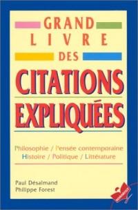 Grand livre des citations expliquées