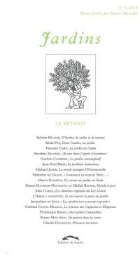 Jardins, N° 5, 2014 : Le retrait