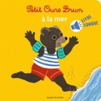 Mini Sonore Petit Ours Brun à la mer