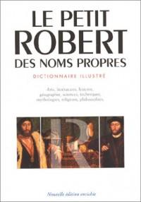 Dictionnaire Le Petit Robert 2003 (grand format) : Des noms propres (Illustré)