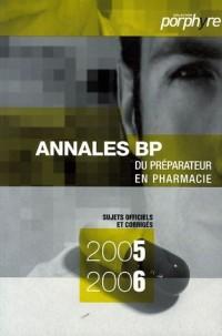 Annales BP : Préparateur en pharmacie
