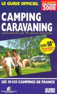Guide officiel Camping Caravaning : Localisation sur 15 cartes routières