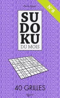 Sudoku du mois N° 8 : 40 Grilles