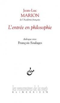 Entrée en Philosophie (l')