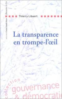 La Transparence en trompe-l'oeil