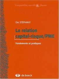 La relation capital risque et PME : Fondements et pratiques