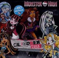 Calendrier Monster High 2013
