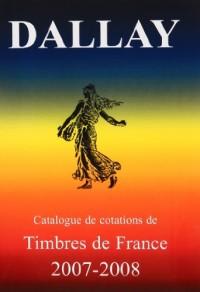 Timbres de France 2007-2008