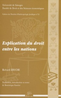 Explication du droit entre les nations