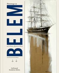 Hommage au Belem par les peintres officiels de la Marine et les écrivains de Marine