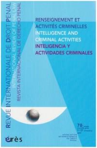 Ridp 1/2 2007 Renseignement et Activites