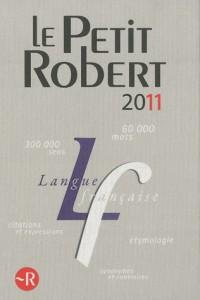 Le Petit Robert 2011