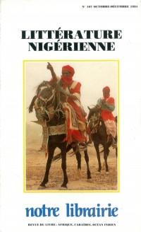107- Litterature Nigerienne