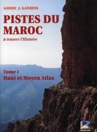 Pistes du Maroc à travers l'histoire : Tome 1, Haut et Moyen Atlas