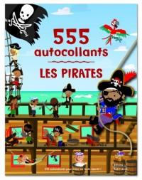 Les pirates : 555 autocollants