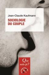 Sociologie du couple [Poche]