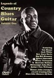 Legends Of Country Blues Guitar Volume 1 DVD. Pour Guitare