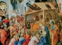 Calendrier de l Avent Adoration des Rois Mages Fra Angelico