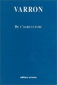 De l'agriculture
