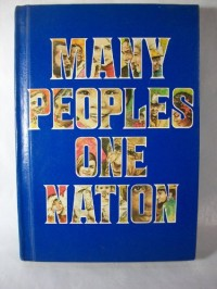 Many peoples, one nation;: A text with stories, poems, essays, and songs about the many peoples of the United States